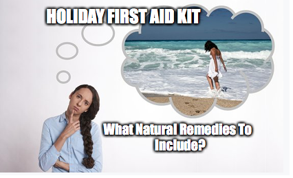Holiday First Aid Kit | Tips On Which Natural Remedies To Take With You 2018