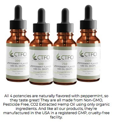 Benefits Of CTFO CBD Oil, And Where To Buy It.
